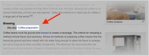 Phân tích từ khóa SEO gần nghĩa từ coffee