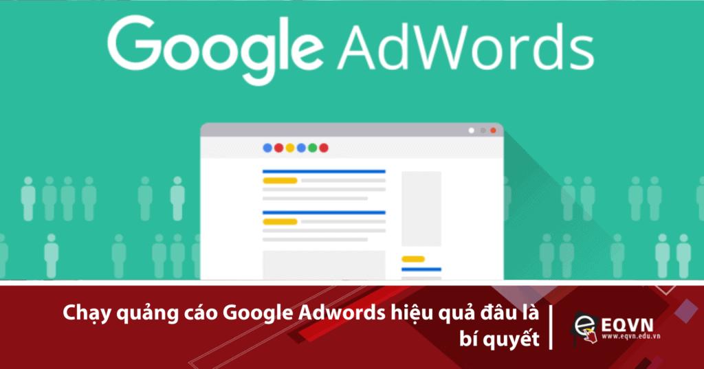 Cách chạy quảng cáo adwords cho người mới bắt đầu