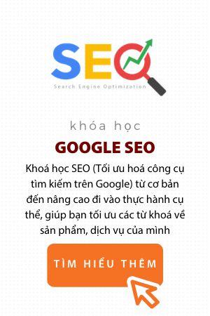 Khóa học SEO Google trung tâm digital marketing eqvn