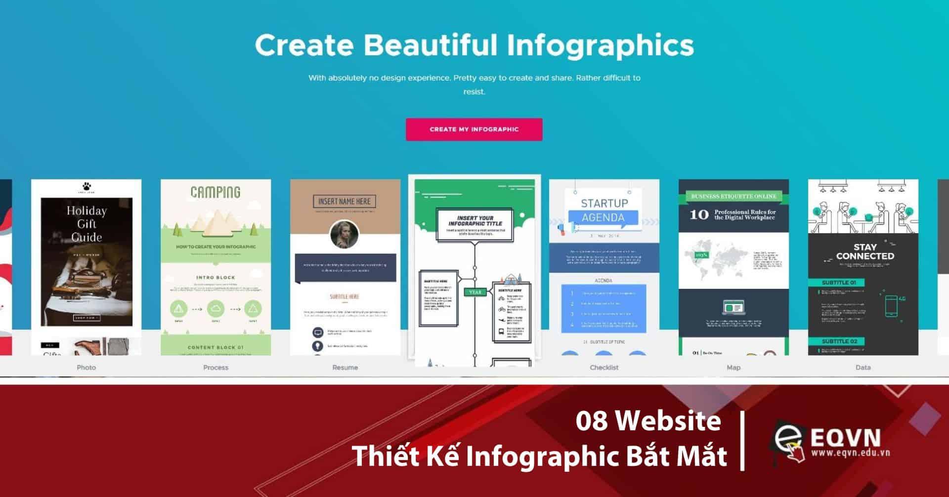 08 website thiết kế Infographics bắt mắt