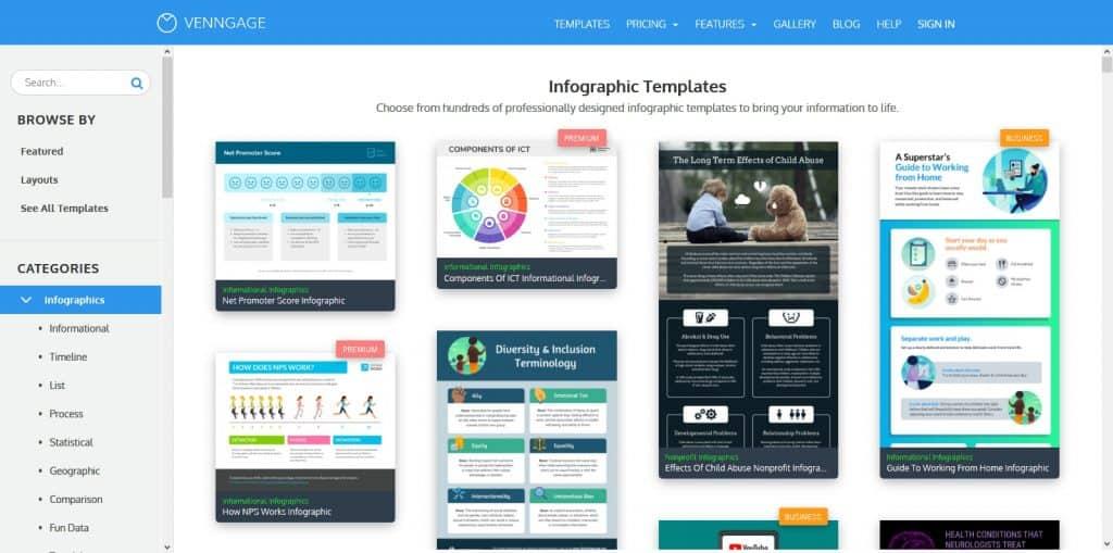 Lợi ích từ Infographic và 08 website để tạo ra các mẫu Infographics bắt mắt
