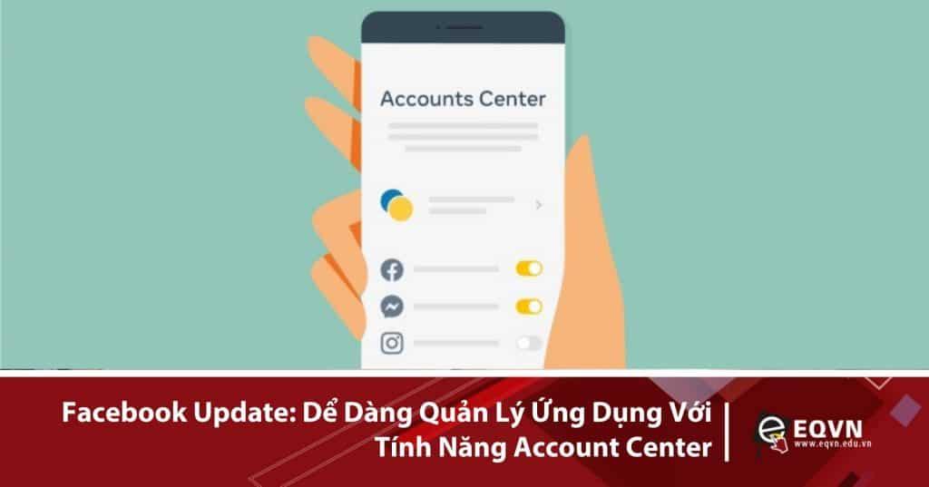Facebook account center