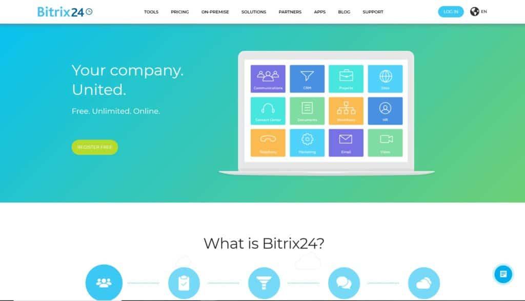 bitrix 24 tự động hóa marketing