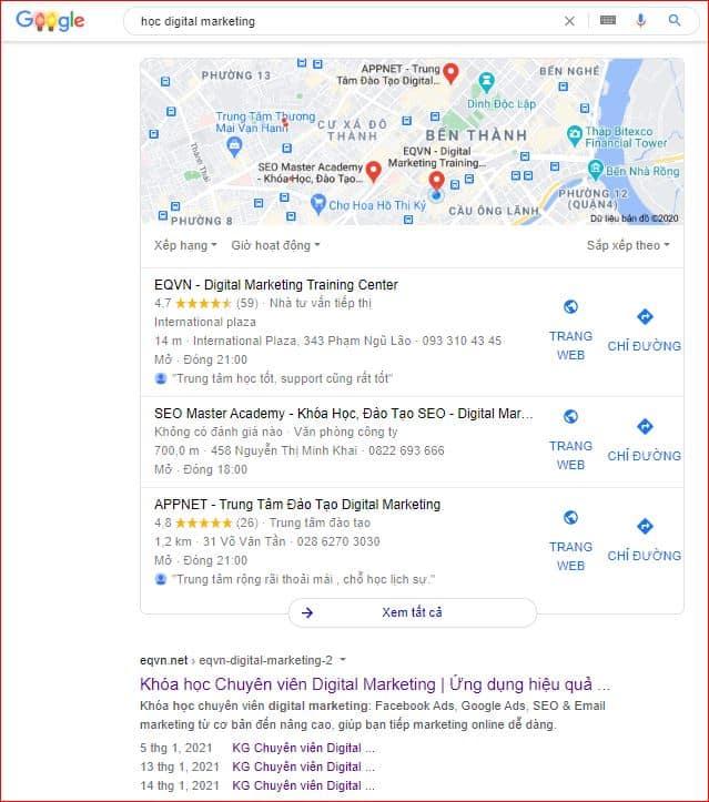 seo địa phương digital marketing