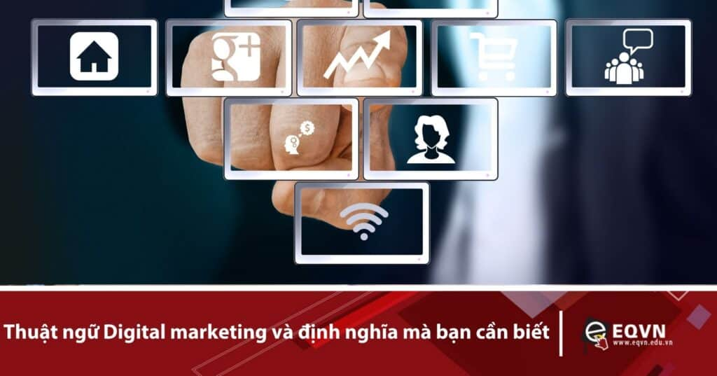 thuật ngữ Digital marketing